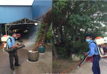 diệt muỗi tại Dĩ An